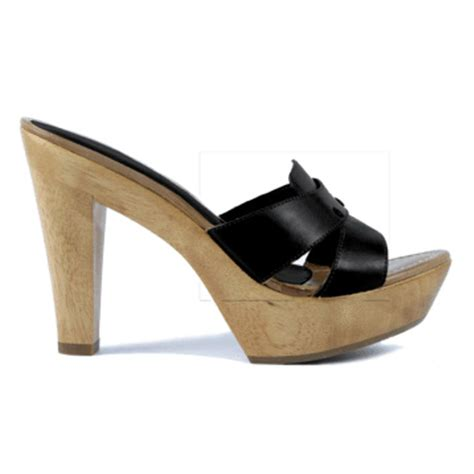 high heel mule shoes vachetta high heel mule from unisa wwsm