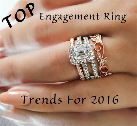 Wedding Ring 2016 by What S Trending For Engagement Rings In 2016 Mullen Jewelers