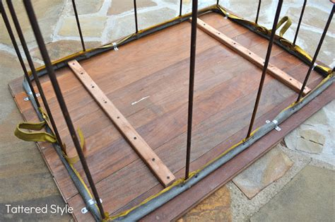 Tattered Style Laundry Cart Makeover Diy