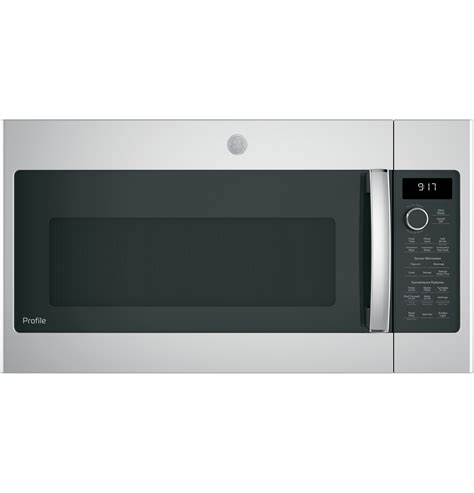 ge profile microwave ge profile series 1 7 cu ft convection the range microwave oven pvm9179skss ge