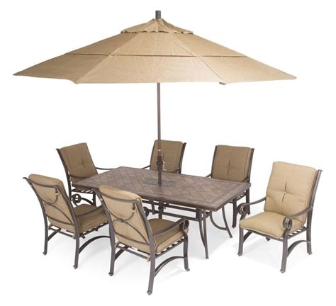 Furniture: Patio Dining Table With Fire Pit Firegear Key