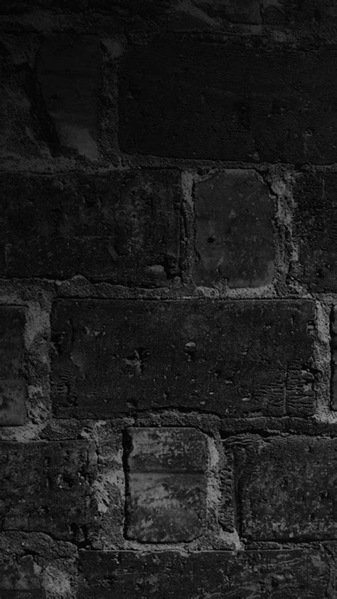 black wallpaper hd for lumia wall bricks black night nokia lumia wallpapers hd 720x1280