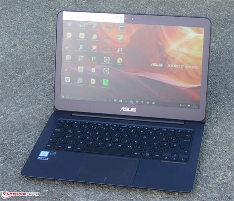 Laptop Asus Zenbook Ux305ua asus zenbook ux305ua fc040t subnotebook review