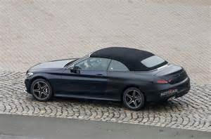 2016 mercedes c class cabriolet previewed ahead of geneva
