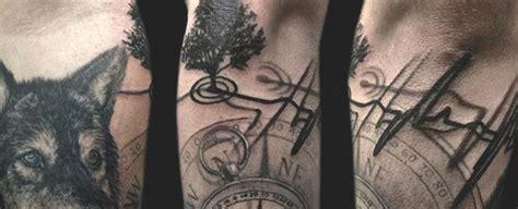 heartbeat tattoo man 50 heartbeat tattoo designs for men electronic pulse ink