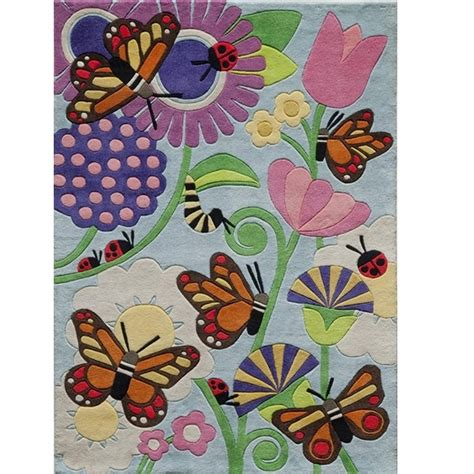 butterfly rug home decor