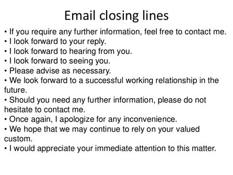 Closing Letter Looking Forward How To Write Emails