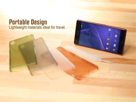 Sony Xperia Z1 Simplism Ultra Thin Cover Hardcase Bumper Armor Casing simplism ultra thin cover set for sony xperia z3