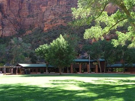 Zion Lodge Dining Room What A View Picture Of Zion Lodge Dining Room Zion