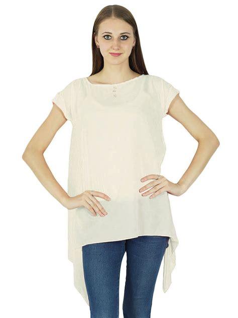 Summer Tunik 2 t shirts tops phagun sleeve tunic casual summer blouse plain boho top