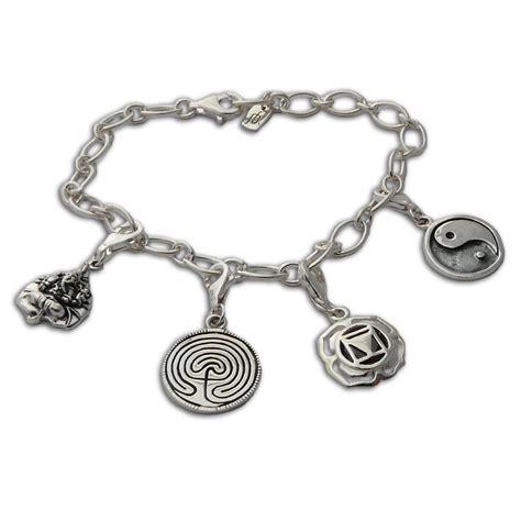 white gold bracelets karma sterling silver bracelets
