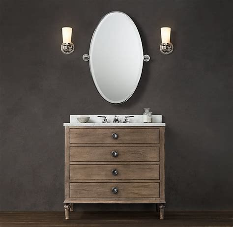 bathroom vanity restoration hardware pin by autumn clemons on beautiful bathrooms pinterest