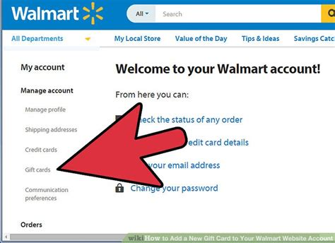 How To Add A Gift Card To My Starbucks App - how to add a new gift card to your walmart website account