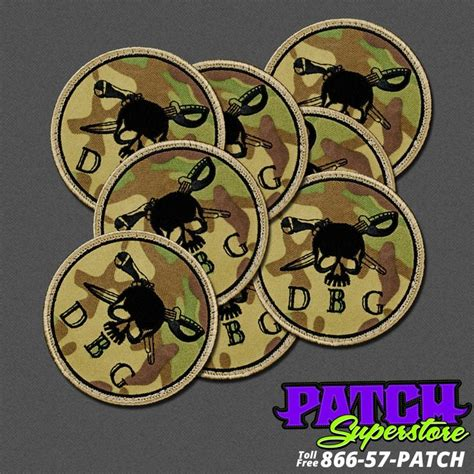 custom patches embroidered patches patchsuperstore check out these military dbg multi cam patches produced by