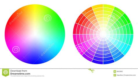 colorful colors color rgb wheels stock photography image 8603862