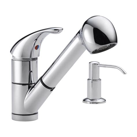 pullout kitchen faucets delta faucet p18550lf choice single handle pull out