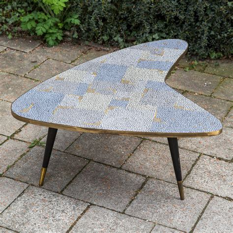 Mosaic Coffee Table by Mosaic Coffee Table By Berthold M 252 Ller At 1stdibs