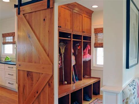 mudroom lockers pictures options tips  ideas hgtv