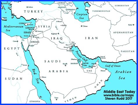 middle east map bible times bible maps middle east today
