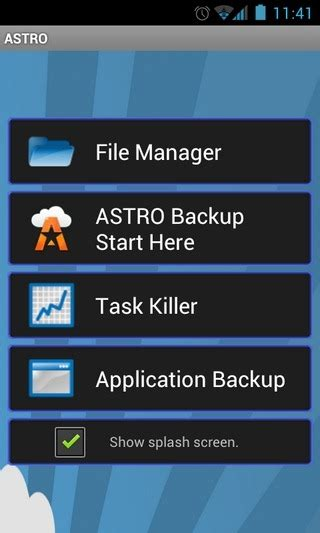 android backup service astro for android launches beta of its cloud backup service