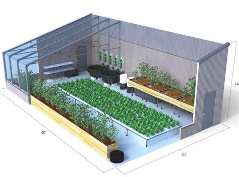 greenhouse  aquaponics backyard aquaponics
