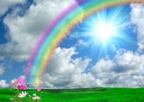 imagenes de un arco iris imagenes de arcoiris imagenes de paisajes naturales hermosos