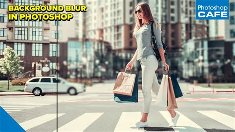 how to blur a background in photoshop how to blur the background of a photo in photoshop