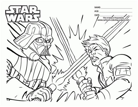 coloring pages wars luke skywalker wars coloring pages luke skywalker versus