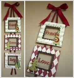 christmas picture frame wreath christmas picture frames
