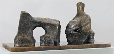 reclining figure two piece reclining figure no 2 henry moore om ch tate