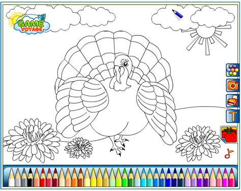 thanksgiving coloring pages online games birdie coloring pages free kids games online