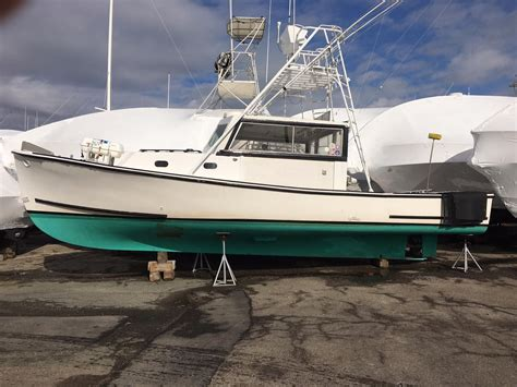 fishing boat hull for sale 1979 bruno stillman downeast lobster boat solid