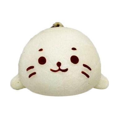 Harga Murah Squishy Model Kucing jual kukuk squishy bapao mini kucing mainan anak putih harga kualitas terjamin