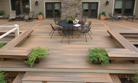 Outside Deck Ideas by 22 Deck Design Ideas To Create A Fabulous Outdoor Living