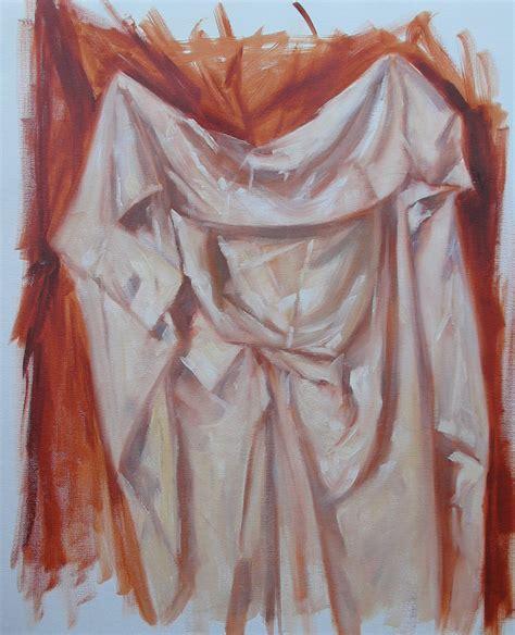drapery painting understanding fabric drapery folds loosen up