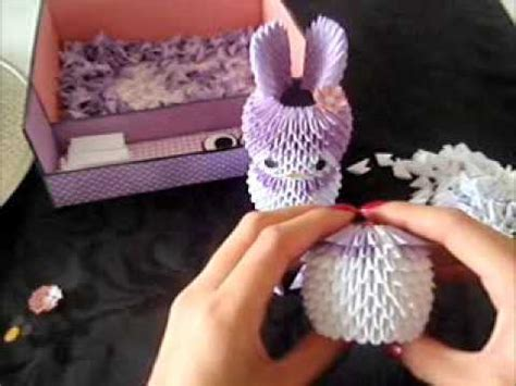 3d origami laos tutorial 3d origami melody tutorial part 1 youtube