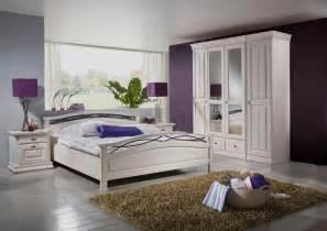 Schlafzimmer Komplett Set Komplett Schlafzimmer Weis Massiv M 246 Bel Inspiration Und