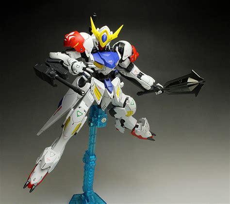 Hg Ms Option 5 Tekkadan Mobile Worker Gundam Ibo work painted build hgibo 1 144 gundam barbatos lupus