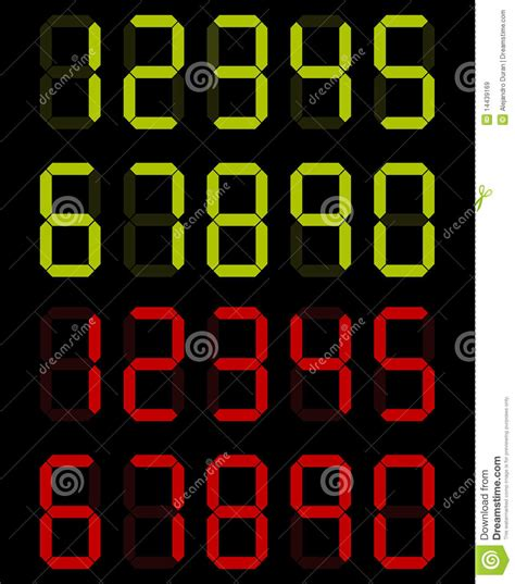 Black Digital Button Number Zero Royalty Free Stock Digital Numbers Royalty Free Stock Images Image 14439169