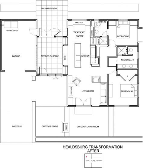 dise o de planos dise 241 o de casa de una planta planos fachada e interior