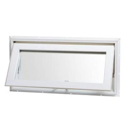 small bathroom windows home depot tafco windows 32 in x 16 in awning vinyl window with