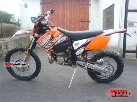 Ktm Exc 2007 Ktm 300 Exc 2007 Specs And Photos