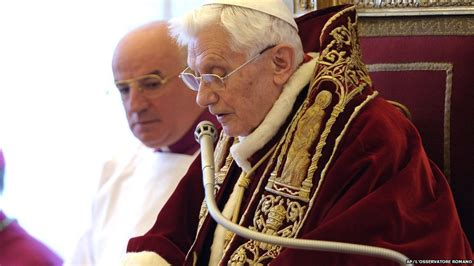 Pope Benedict Resignation Letter by The Of Pope Benedict Xvi In Pictures Cbbc Newsround