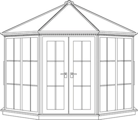 Pavillon Mit Glasdach by Vitavia Nordic Pavillon 1400 Wei 223 Mit Glasdach