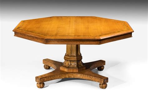 antique oak dining table antique oak octagonal centre dining table summers davis