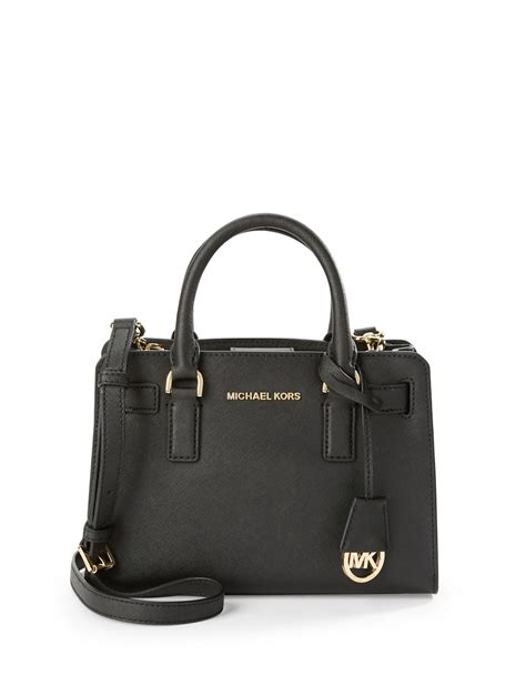 Michael Kors Small Satchel Luggage Ori michael michael kors dillon small leather satchel bag in black lyst