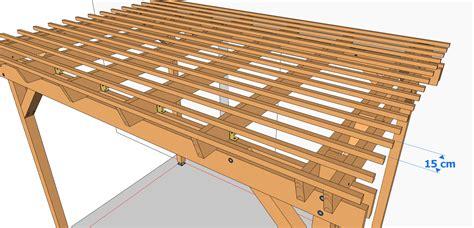 Carport Construction Plans pose des lattes pergolas et tonnelles 224 faire soi m 234 me