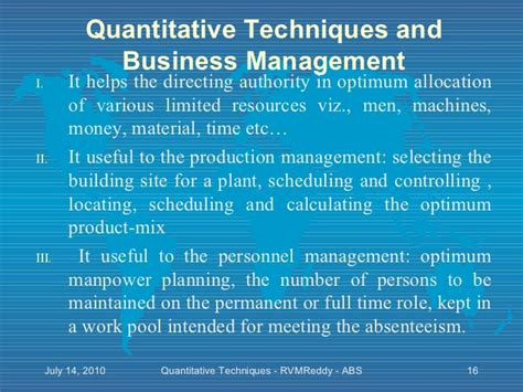 Quantitative Techniques For Management Mba by Quantitative Techniques In Management By N D Vohra Tmh