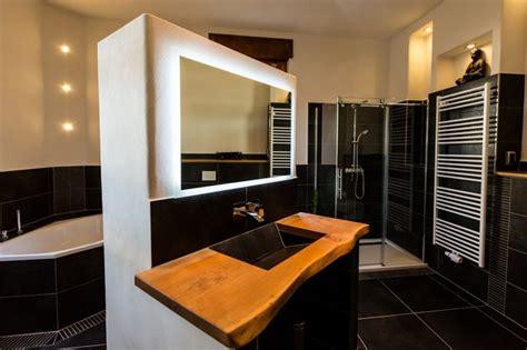 gekachelte badezimmer designs lehmputz im bad modern badezimmer d 252 sseldorf