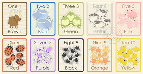 printable numbers 1 to 10 flashcards otto s dish flash cards 1 10 colours